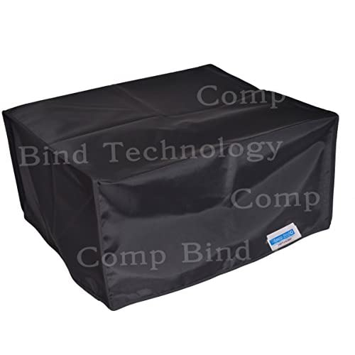 Canon ImageCLASS D530 Laser Printer Black Nylon Anti-Static Dust Cover By Comp Bind Technology Size 15.4''W x 17.2''D X 12''H