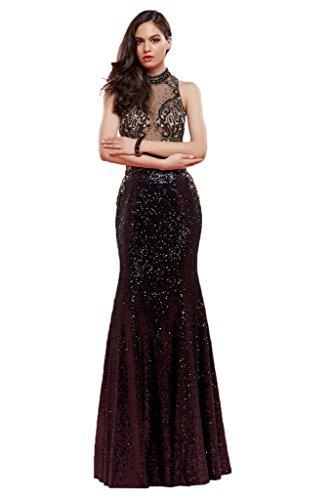 ivyd ressing Mujer de gran calidad en condiciones de fiesta vestido Prom Ball vestido fijo para vestido de noche D