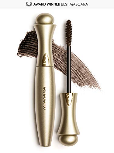 MIRENESSE Secret Weapon Original 24hr Mascara. Innovative Micro-wrap Tubing Formula That Lengthens & Builds Volume. Award-winning Formula That is Perfect for Sensitive Eyes.