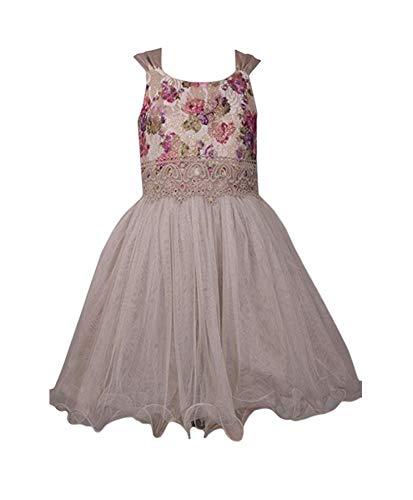 Bonnie Jean Ivory Dress - Bonnie Jean Sleeveless Ivory Dress with