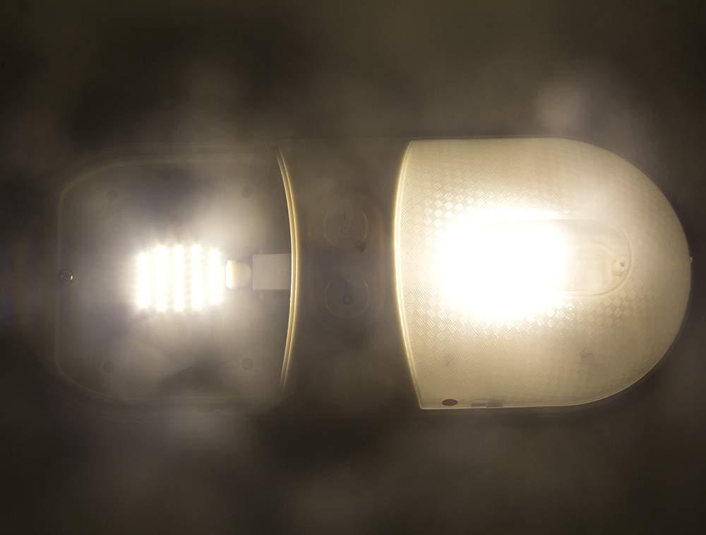 Super Bright Neutral White T10 921 922 912 LED Bulbs for 12V RV Ceiling Dome Light RV Interior Lighting Trailer Camper Pack of 10 600 Lumens