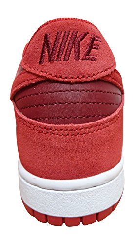 44 da Team Dunk Ginnastica 12 601 nbsp;EU Scarpe Red EU White Gym NIKE Low 6WUZ76