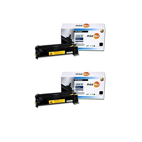 2-Pack High Yield New Compatible 05A CE505A 80A CF280A Premium Black Replacement Toner Cartridge For HP LaserJet P2035, P2035N, P2055, P2055DN, M425DN, M401DN, M401DNE, M401DW, M401N Printers (Laserjet Printer Cartridge 80a)