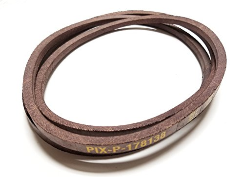 Pix Belt Made With Kevlar To FSP Specifications Replaces Drive Belt Number 178138 532178138 Craftsman Poulan Husqvarna