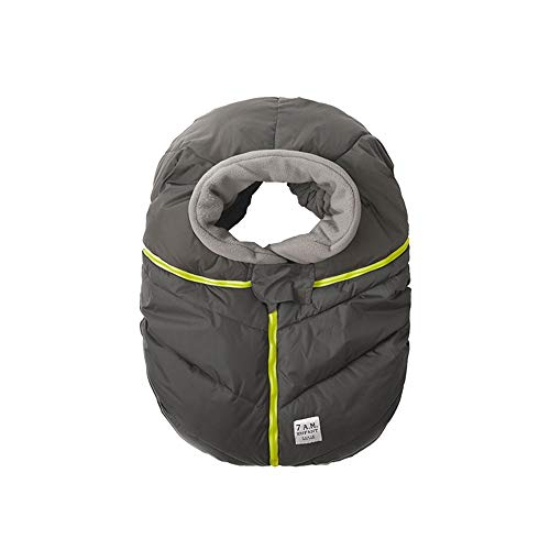7 A.M. Enfant Car Seat Cocoon (Grey)