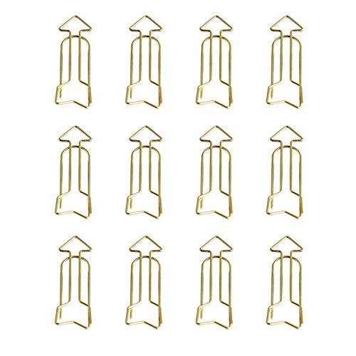 treestar 12 pezzi punta di freccia a forma di graffette creativi Cancelleria segnalibri per Art Artigianato Scrapbooking Scuola di ufficio