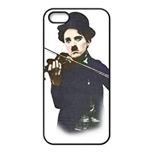 Charles Chaplin iPhone5s Cell Phone Case Black Customized Toy pxf005_9648299