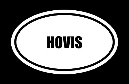 6-die-cut-white-vinyl-hovis-name-oval-euro-style-vinyl-decal-sticker