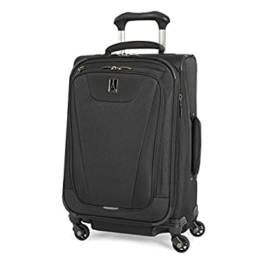Travelpro Maxlite 4 Expandable 21 Inch Spinner Suitcase, Black