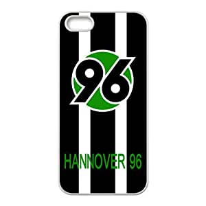 QQQO Hannover 96 Logo Cell Phone Case for Iphone 5s