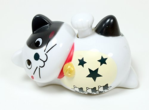 Solar Toy A White Smiling Happy Face Japanese Lucky Fortune Kitty Cat ~ Adorable~ Waving Paw Great For Cat Lover!!! by KT -