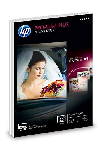 (HP Photo Paper | Semi-Glossy | 4x6 | 25 Sheets)