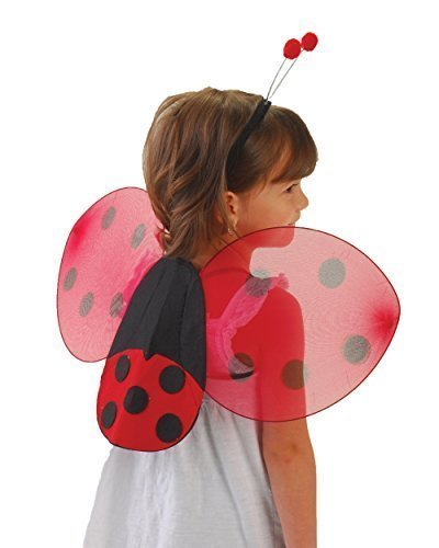 US Toy Lady Bug Wings & Antenna Costume -
