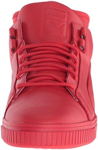 PUMA Mens Play PRM Fashion Sneaker High Risk Red RaTsO3
