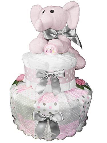 Top 10 Best Diaper Cakes For Baby Showers Girls Best Of 2018
