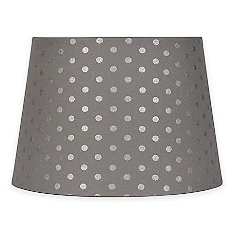 Mix match small 10 inch polka dot lamp shade in greysilver mix match small 10 inch polka dot lamp shade in greysilver aloadofball Gallery