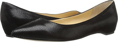 Ivanka Trump Womens Chic4 Balletto Piatto Nero In Pelle Scamosciata