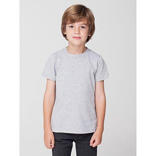 Courtes Gris Manches T shirt Apparel Enfant À American qI7wX0I