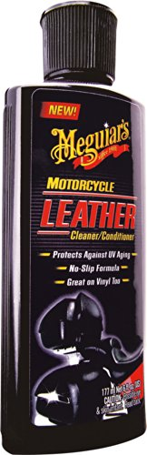 Meguiar's MC20306 Motorcycle Leather Cleaner and Conditioner - 6 oz.
