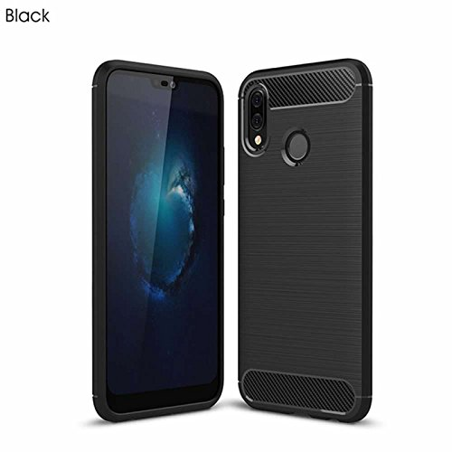 For Huawei P20 Lite/Nova 3e Case,superior ZRL® Ultra Slim Brushed Air Bumper Soft TPU Protective Defender Shell Holder Cover, Flexible and Durable Shock Absorption Design