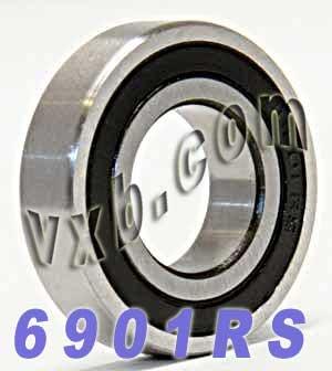 6901RS Sealed Bearing 12x24x6 Ball Bearings