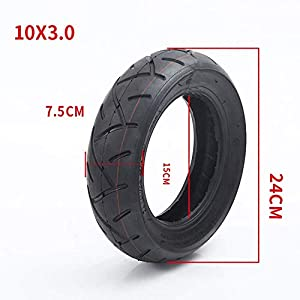 Wear Resistant Electric Scooter Tires, 10X3.0 Vacuum Pneumatic Tires, Widened Non-Slip, Strong Body Mini Electric…
