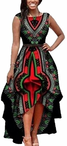 high low african print dresses - 4