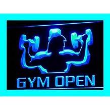 ADV PRO i103-b OPEN Gym Gymnasium Room Shop NEW Neon Light Sign