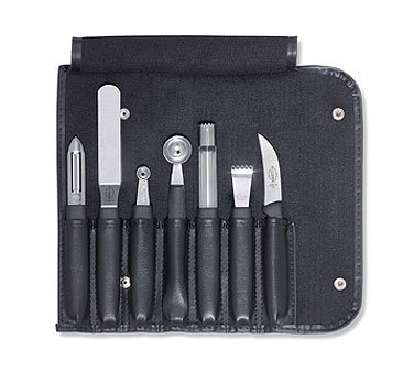 F. Dick 7 Piece Professional Kitchen Garnishing Set