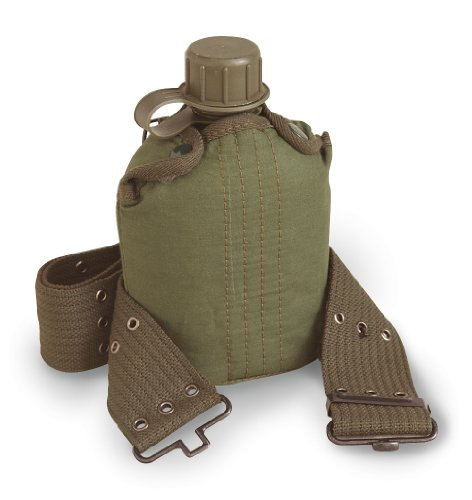 - Stansport Plastic Canteen with Cover and Belt Set