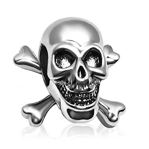 JMQJewelry Skull Charm Halloween Ghost Beads For Bracelets