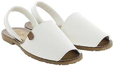 Neusita, Sandales Bout Ouvert Femme, Blanc (Blanco 006), 39 EUKoala Bay