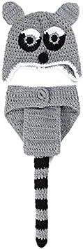 Volpe AKAAYUKO Neonato Ragazzo Ragazza Knitted Fotografia Props Costume
