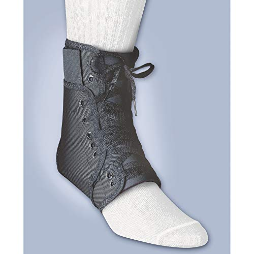 BSN Medical/Jobst 40-511MDBLK Inner Lok 8 Ankle Brace, Medium, Black