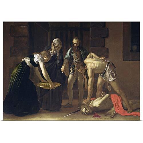 GREATBIGCANVAS Poster Print The Decapitation of St. John The Baptist, 1608 by Michelangelo Merisi da Caravaggio 48