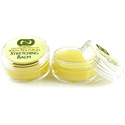 Gauge Gear Twin Pack- Ear Stretching Balm Cream with Jojoba Oil Natural Healing Product