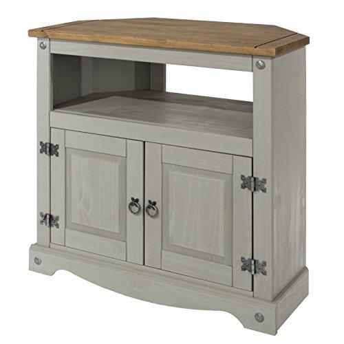 Merveilleux Corona Corner TV Unit Cabinet From Our Corona Painted Rustic Furniture  Range: Amazon.co.uk: Kitchen U0026 Home