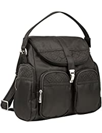 Anti-Theft Signature Convertible Backpack, Truffle, One Size