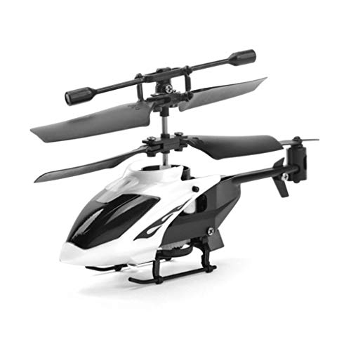 Mini RC Helicopter Kits, Elevin(TM) RC 2CH Mini rc Helicopter Radio Remote Control Aircraft Micro 2 Channel (White)
