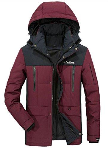 Winter Thicken Pockets Jacket Multi Men's Coat With UK Hoodies Red Brd Hot Down Windbreaker 4wqUUtI