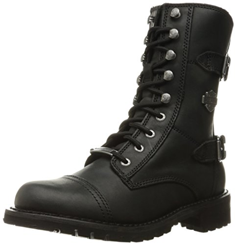 Harley-Davidson Women's Balsa Work Boot, Black, 6.5 M US