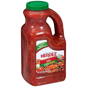 HERDEZ Medium Salsa Casera 70 oz - 4 Pack