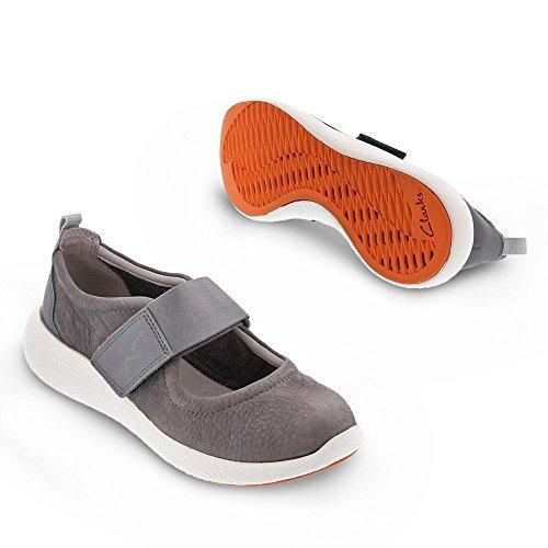 Cowley Folly donna Grigio Sneaker Clarks grigio fzZqwgTap