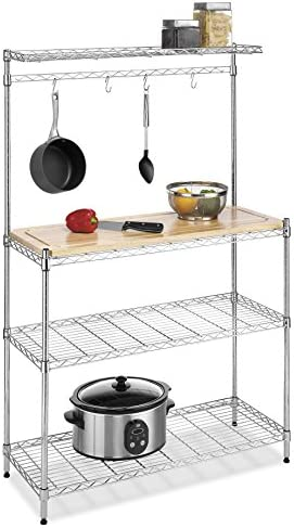 picture of Whitmor Supreme Baker's Rack - Food Safe Removable Wood