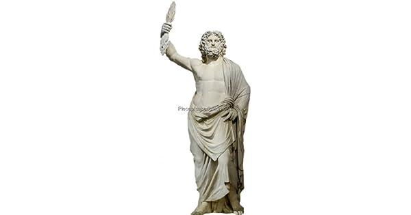 1/4 ~ mitología griega Zeus Estatua Cumpleaños ~ Comestible ...