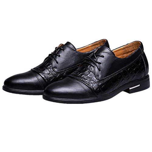 Los hombres de la primera capa de zapatos casuales de la tendencia de cuero zapatos casuales 1