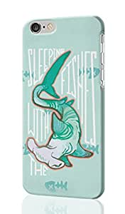 Sleeping With The Fishes Pattern Image - Protective 3d Rough Case Cover - Hard Plastic 3D Case - For iPhone 6 Plus- 5.5