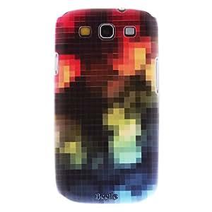 Mate Estilo ensue patrón del enrejado caso duro durable para el Samsung Galaxy S3 I9300