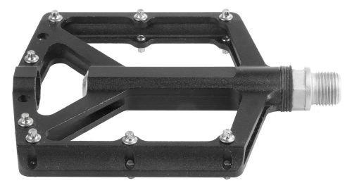 Flaches CNC Pedal Alu schwarz 9 16 Zoll