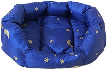 Stars Moon Printing Waterproof House Pet Dog Cat Bed Cushion